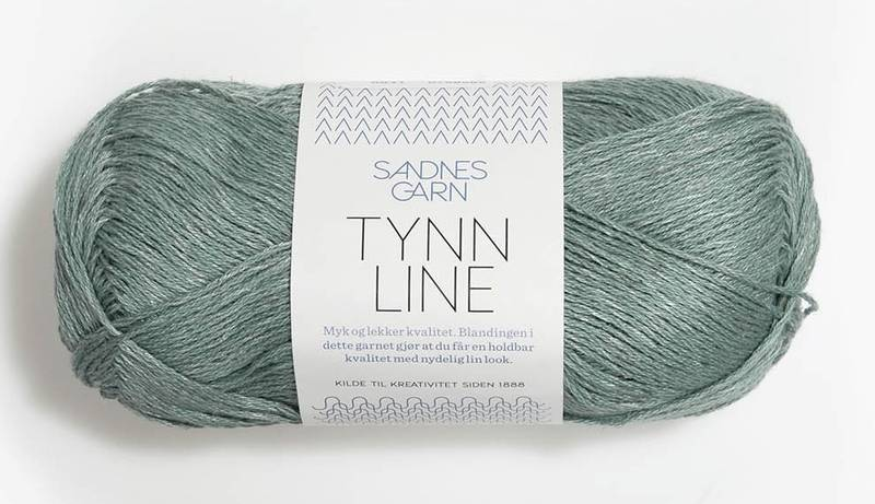 Tynn Line 6841 Støvet aqua